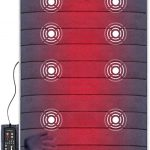 SNAILAX Massage Vibration Mattress Massager 24