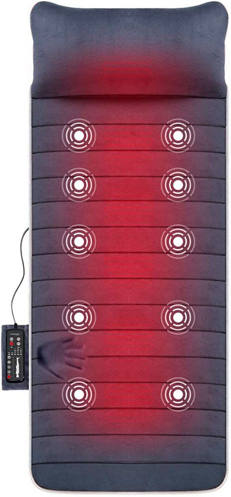 SNAILAX Massage Vibration Mattress Massager 15