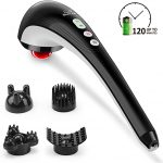 Snailax Cordless Handheld Back Massager 4